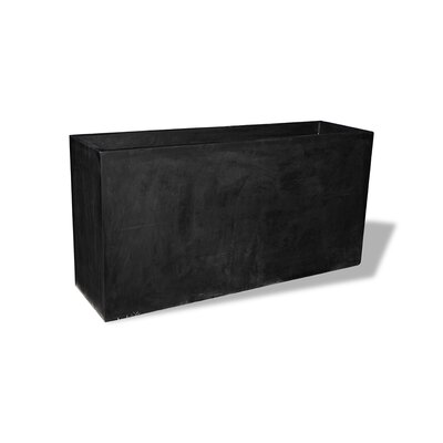Amedeo Design ResinStone Tall Rectangular Planter