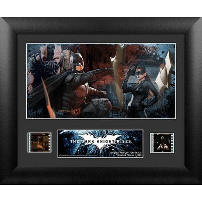 Batman The Dark Knight Rises Single FilmCell Presentation