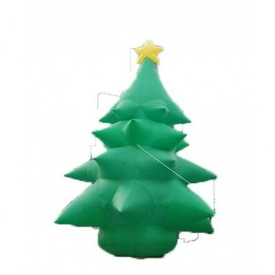 BZB Goods 20' Christmas Inflatable Huge Tree with Star Topper