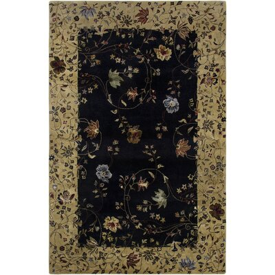 Zoe Design Ebony, Hand-Tufted Rug