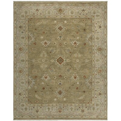 Murcia Design Brown, Hand-Knotted Rug