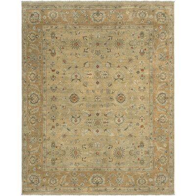 Cillan Design Gold, Hand-Knotted Rug