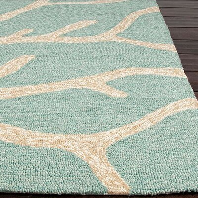 Coastal Living™ by Jaipur Rugs Coastal Living(R) I-O Frosty Green Coastal Rug
