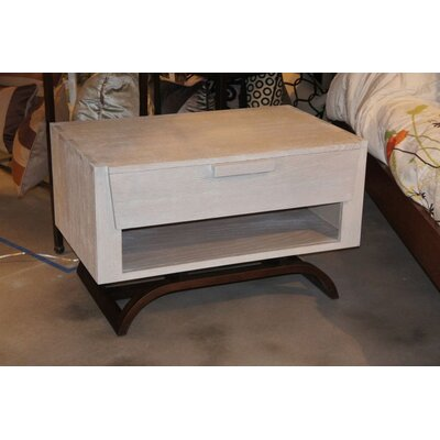 JS@home Sheridan Road 1 Drawer Nightstand