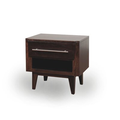 JS@home Green Bay Road 1 Drawer Nightstand