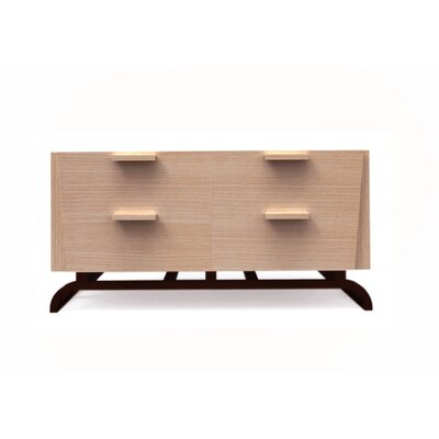 JS@home Sheridan Road 4 Drawer Low Dresser