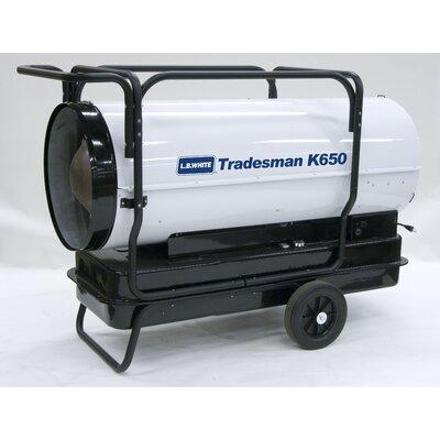 L.B. White Tradesman 650,000 BTU Utility Kerosene Space Heater