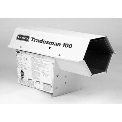 L.B. White Tradesman 100,000 BTU Utility Propane Space Heater