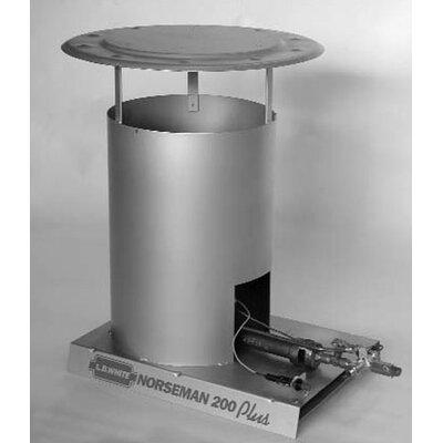 L.B. White Norseman 200,000 BTU Convection Tank Top Propane Space Heater