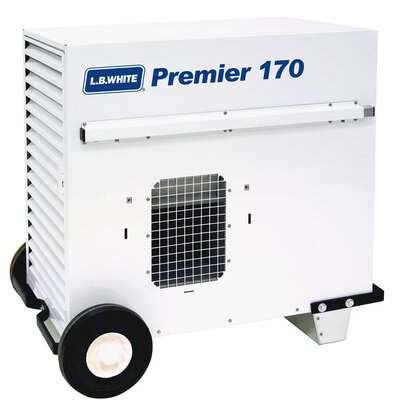 L.B. White The Premier-170DF 170,000 BTU Utility Propane Space Heater