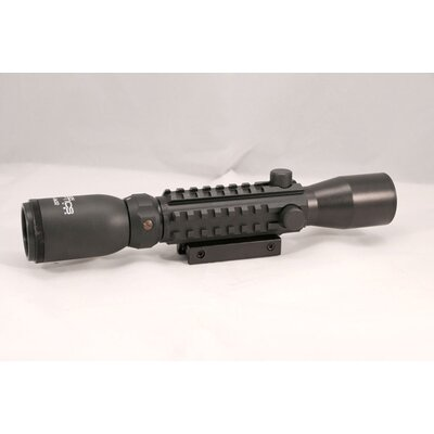 3-9X32 Tactical W/ Picatinny/Illuminated Reticle