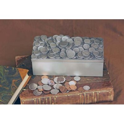 The Merchant Source Groovy Office Coins / Loose Change Box