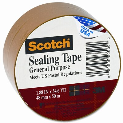 3M Tartan Bulk-Packed Commercial Grade Tape