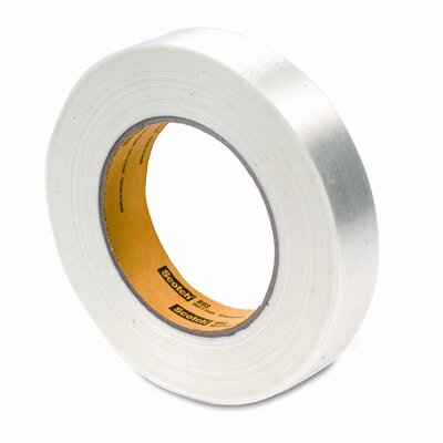 3M Filament Tape, 1&quot; x 60 Yards, 3&quot; Core                                                                                        