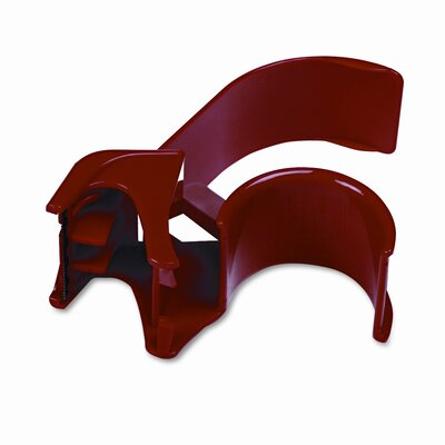 "3M Handheld Packaging Tape Dispenser, 3"" core, Heavy Duty Plastic, Red"