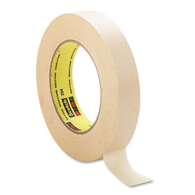 "3M General-Purpose Masking Tape, 1"" x 60 Yards, 3"" Core, Natural"