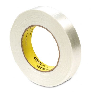 "3M Filament Tape, 1"" x 60 Yards, 3"" Core"