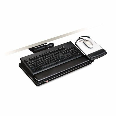 3M Easy Adjust Keyboard Tray, Highly Adjustable Platform