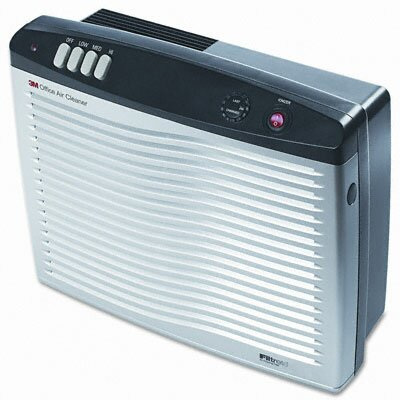 3M Office Air Cleaner with Filtrete Media Filter, 192 Sq Ft Room Capacity