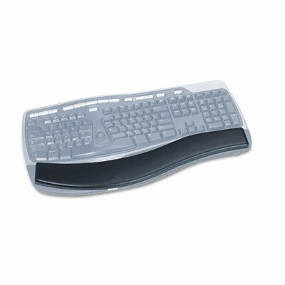 3M Gel Antimicrobial Thin Wrist Rest for Ergonomic Keyboards