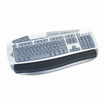 3M Gel Antimicrobial Thin Wrist Rest for Standard Keyboards