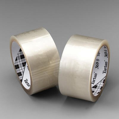 3M X 100M Tartan™ 369 General Purpose Clear Box Sealing Tape