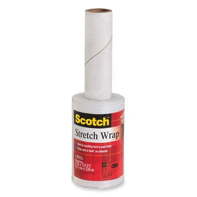 "3M Stretch Wrap on Handheld Dispenser, 5""x725'"