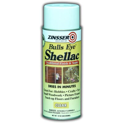 Zinsser Clear Bulls Eye® Shellac Spray Paint