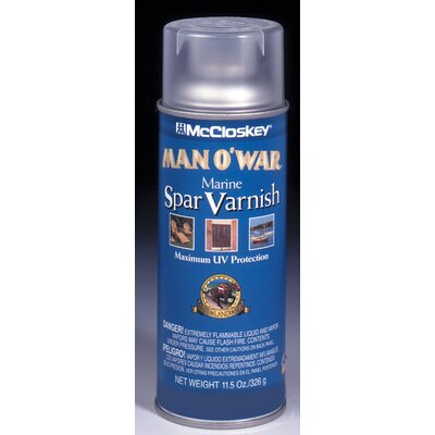 Valspar 12 Oz Spar Varnish Spray Paint Satin