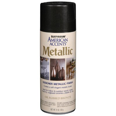 Rustoleum 11 Oz Oil Rubbed Bronze Metallic Spray Paint