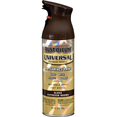 Rustoleum 12 Oz Espresso Brown Universal® Spray Paint