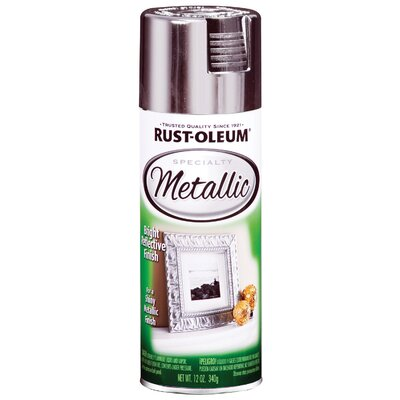Rustoleum Silver Metallic Specialty Spray Paint