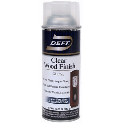 Deft 13 Oz Clear Wood Finish Gloss
