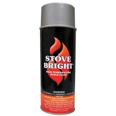 StoveBright 12 Oz Metallic Gray Stove Bright® High Temperature Aerosol