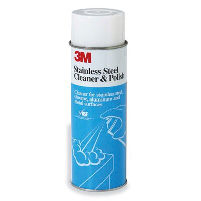 3M Stainless Steel Cleaner and Polish, Lime Scent, Foam, 21-Ounce Aerosol Can