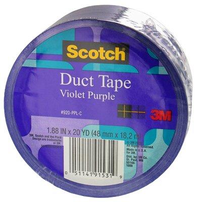 3M 20 Yards Violet Purple Duct Tape