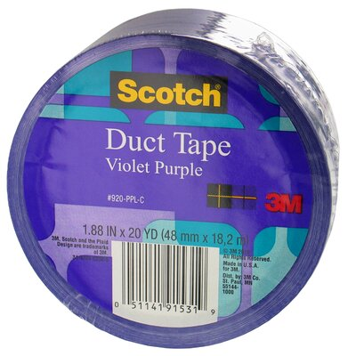 3M 20 Yards Violet Purple Duct Tape