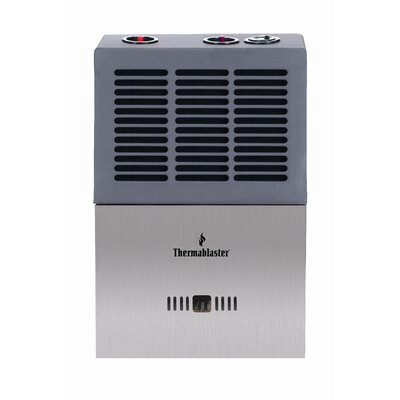 Thermablaster Vent Free Blue Flame 6,000 BTU Wall Natural Gas and Propane Space Heater