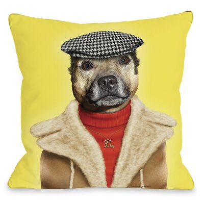 One Bella Casa Pets Rock Dog Boy Pillow