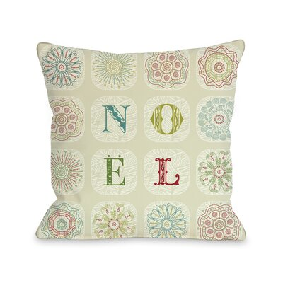 OneBellaCasa.com Holiday Boho Noel Pillow