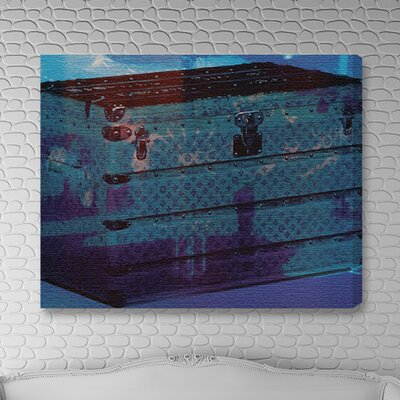 """One Bella Casa """"Voyage into the Water"""" Graphic Art on Canvas"""