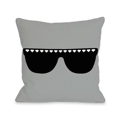 OneBellaCasa.com Diamond Sunglasses Pillow