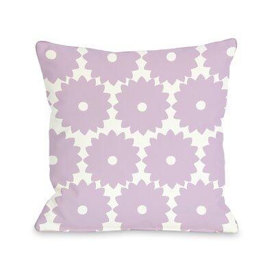 One Bella Casa Gia Flower Print Pillow