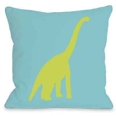 One Bella Casa Apatosaurus Polka Dots Pillow