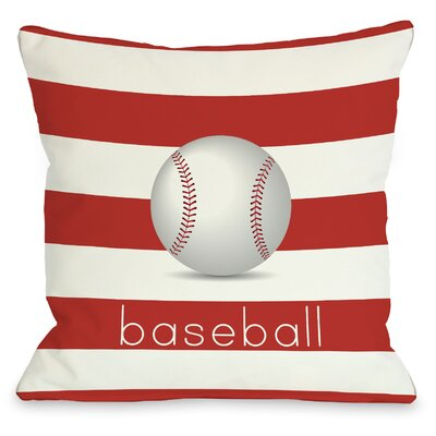 OneBellaCasa.com Baseball Pillow