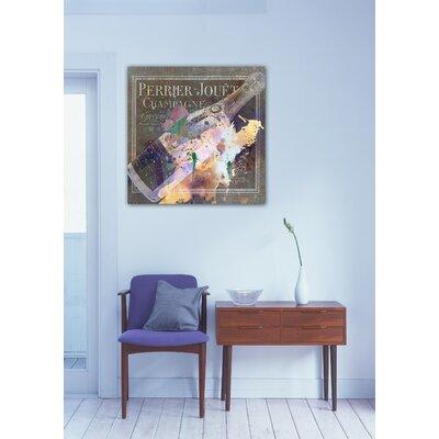 One Bella Casa ''Spumanti Francese II'' Graphic Art on Canvas