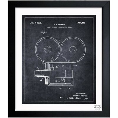 One Bella Casa Direct Viewing Photographic Camera 1929 Framed Graphic Art