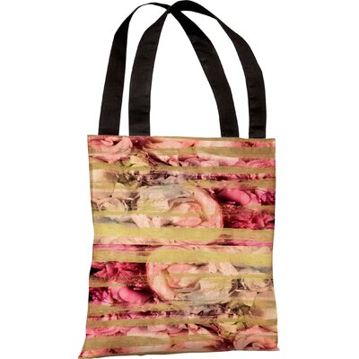 OneBellaCasa.com Oliver Gal Field of Roses Tote Bag