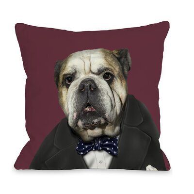 OneBellaCasa.com Pets Rock Leader Pillow