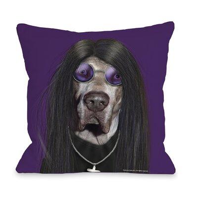 One Bella Casa Pets Rock Metal Pillow